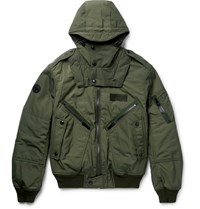 Polo Ralph Lauren Padded Shell Hooded Bober Jacket Ary Green Army Green