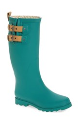 Chooka Women's 'Top Solid' Rain Boot Forest Green Matte