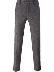 Pt01 Skinny Fit Trousers Brown