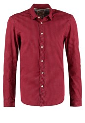 Tom Tailor Denim Shirt Dry Flower Red
