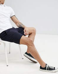 Only And Sons Tailored Shorts Blue Nights Navy