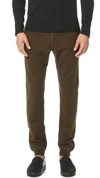 Reigning Champ Mid Weight Terry Slim Sweatpants Olive