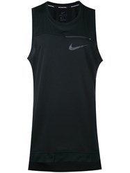 Nike Zip Detail Vest Men Polyester M Black