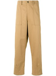 Universal Works Fatigue Trousers Brown