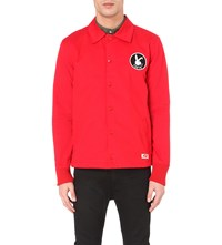 Tsptr Playboy Motif Cotton Jacket Red