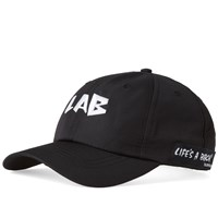 Lifes A Beach Life's Logo Tech Cap Black