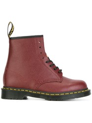 Dr. Martens Stussy '8 Eye' Boots Red
