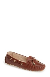 Cole Haan 'Cary' Leather Driving Flat Women Woodbury