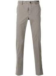 Pt01 Silk Fit Chino Trousers Nude Neutrals