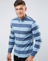 Element Striped Shirt With Pocket Blue