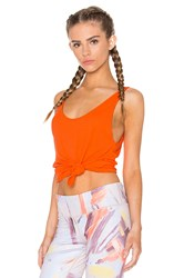 Alo Yoga Sculpt Tank Orange