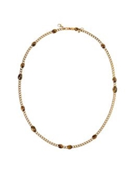 Emilio Pucci Necklaces Bronze