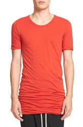 Rick Owens Men's Draped T Shirt
