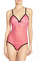Women's Betsey Johnson 'Retro' Lace Bodysuit
