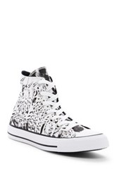 Converse Chuck Taylor R All Star R Animal Print High Top Sneaker Women White