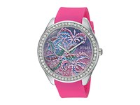 Guess U0960l1 Pink Purple Floral Watches