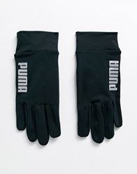 Puma Training Touch Screen Gloves In Black