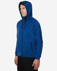 32 Degrees Men's Performance Hooded Sweatshirt Opal Blue