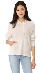 James Perse Cashmere Oversize Hoodie Talc