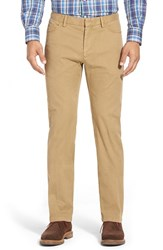 Men's Peter Millar Stretch Cotton Hybrid Pants Khaki
