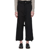Toogood Black 'The Sculptor' Trousers