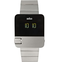Braun Bn0106 Stainless Steel Watch Silver