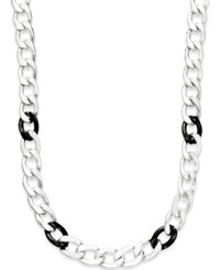 Alfani Two Tone Link Necklace Only At Macy's