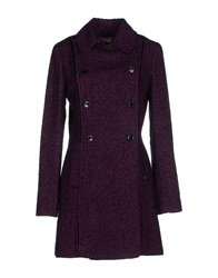 Galliano Coats Mauve