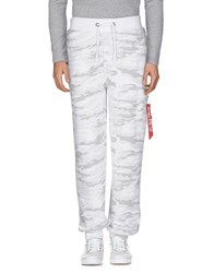 Alpha Industries Inc. Casual Pants White