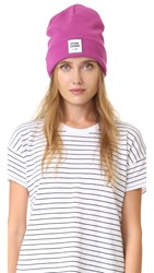 Opening Ceremony Logo Knit Beanie Cosmic Pink