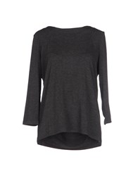 Minimum Topwear T Shirts Women Grey