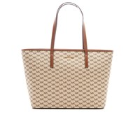 Michael Michael Kors Women's Emry Large Top Zip Tote Bag Natural Luggage