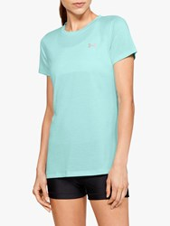 Under Armour Tech Twist Training Top Turquoise