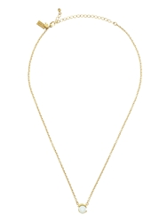 Kate Spade Dainty Sparklers Pearl Pendant Cream