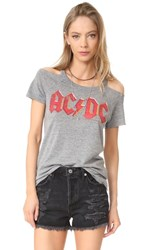 Chaser Ac Dc Tee Streaky Grey