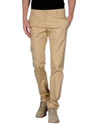 Gold Case By Rocco Fraioli Casual Pants Khaki
