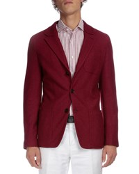 Berluti Soft Two Button Jacket Red