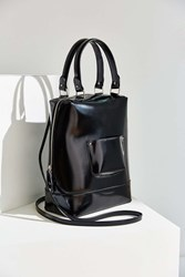 Cooperative Structured Handle Tote Bag Black