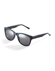 Guess Matte Wayfarer 70Mm Square Sunglasses Blue