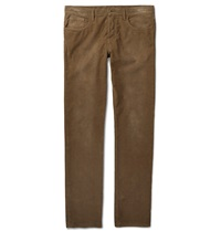 Gucci Slim Fit Corduroy Trousers Brown