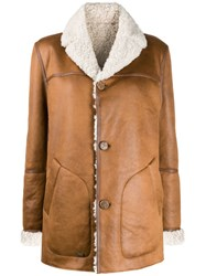 Urbancode Bob Reversible Faux Shearling Jacket Brown