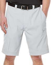 Callaway Performance Flat Front Shorts Silver
