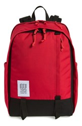 Topo Designs Core Backpack Red