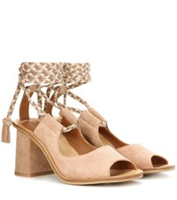 See By Chloe Exclusive To Mytheresa.Com Suede Sandals Beige
