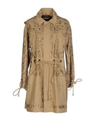 Roberto Cavalli Coats And Jackets Full Length Jackets Women Sand