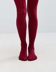 Gipsy 100 Denier Luxury Opaque Tights Ruby Red
