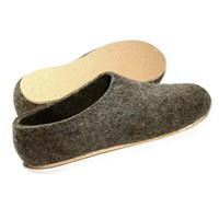 Felt Forma Men's Eco Brown Cork Wool Shoesus 6.5