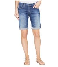 Ag Adriano Goldschmied The Nikki Shorts In 10 Years Dispatch 10 Years Dispatch Women's Shorts Blue