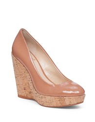 Vince Camuto Faran Patent Leather Wedges Blush