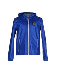 Dirk Bikkembergs Sport Couture Coats And Jackets Jackets Men Bright Blue